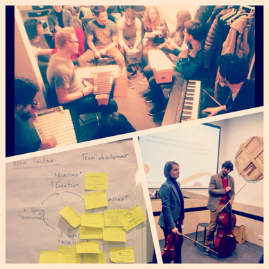 Team Coaching through Music, Laure Helfgott